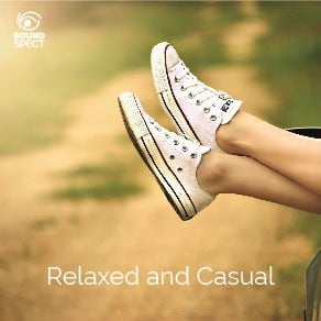 SoundSpect Music Album Covers - Relaxed-and-Casual