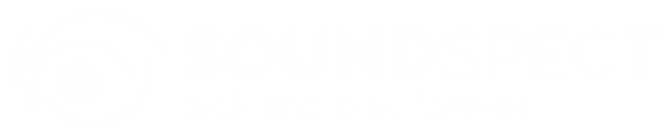 SoundSpect Logo flat - white