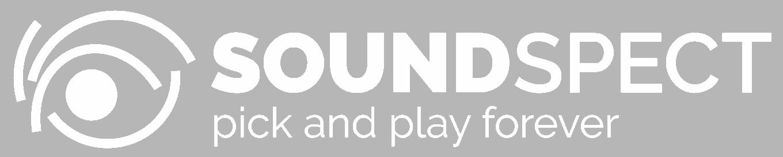SoundSpect Logo flat - white