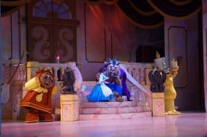 Beauty and the Beast musical. When you are looking to pick the music for kids' theatre shows it need to have the right purpose.